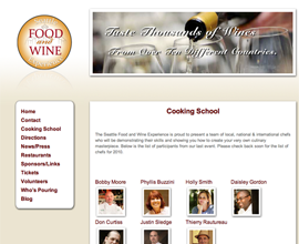 Seattle Food and Wine Experience